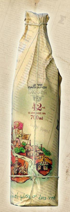 Picture of Ouzo Giannatsis 42% vol 700ml RETRO