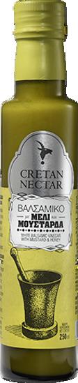 Cretan Nectar Λευκό Βαλσαμικό Ξύδι με Μέλι και Μουστάρδα 250ml