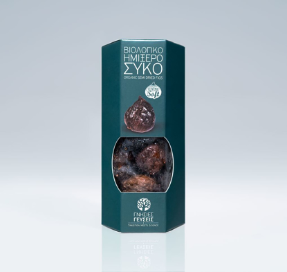 Picture of Genuine Taste Organic Semi Dried Figs 150gr