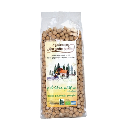 Picture of Bio Medium Chickpeas Antonopoulos (500g)
