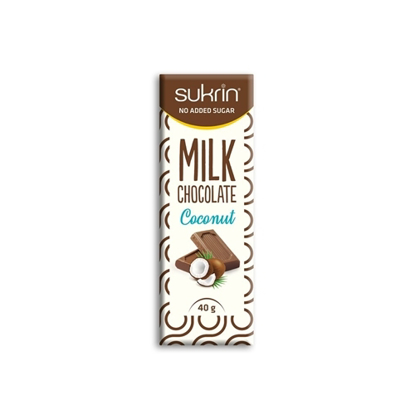 Picture of Sukrin Milk Chocolate with Coconut -40gr