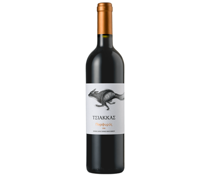 Picture of Tsiakkas Winery Porfyros red 75cl