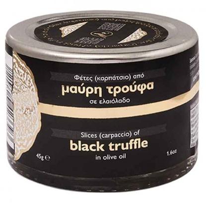 Picture of Meteora Museum Sliced Black Truffle in Greek Olive Oil 45g