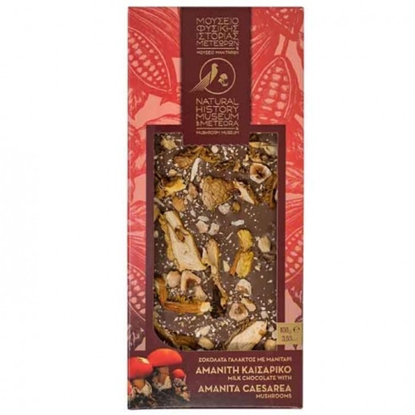Picture of Meteora Museum Milk chocolate with Amanita caesarea 100gr
