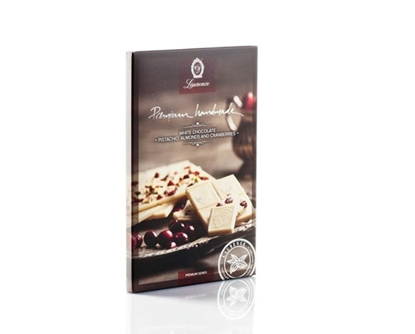 Εικόνα της Laurence Premium White Chocolate 85gr