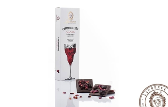 Laurence Chommelier Red wine chocolate pairing 100gr