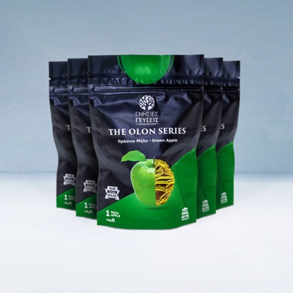 "Picture of Genuine Taste ""The OLON Series"" Green Apple Chips 5 pcs x 18gr"