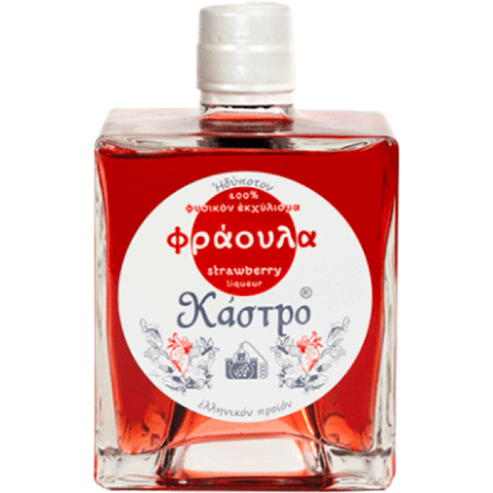 Picture of Strawberry Castro liqueur 24% 500ml