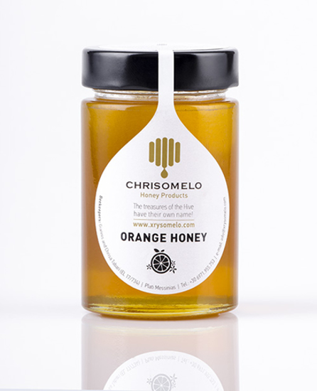 Picture of Chrisomelo Orange Ηoney 250gr