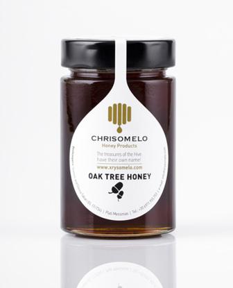 Εικόνα της Χρυσόμελο Μέλι βελανιδιάς 250gr