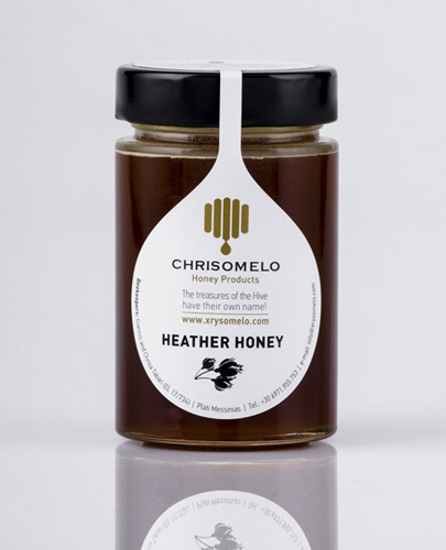 Picture of Chrisomelo Heather Honey 250gr
