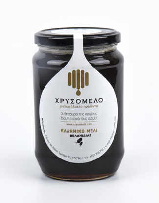 Picture of Chrisomelo Oak Honey 480gr