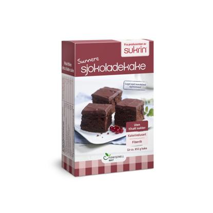 Εικόνα της Sukrin Chocolate Cake Mix  410gr